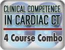 Clinical Competence in Cardiac CT Four Volume Library